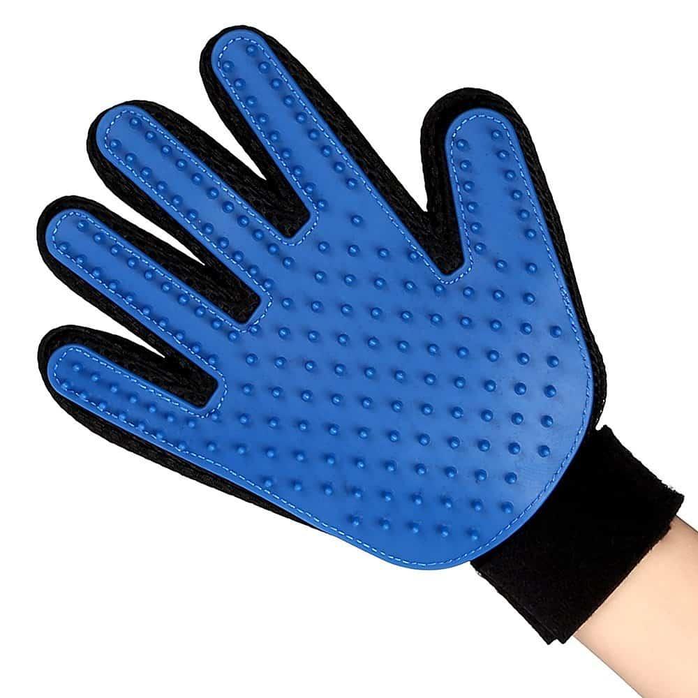 gant poils animaux