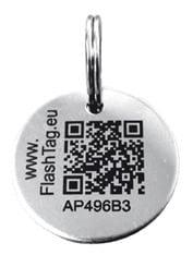 médaille qr code