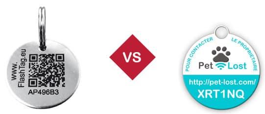 médaille qr code vs nfc