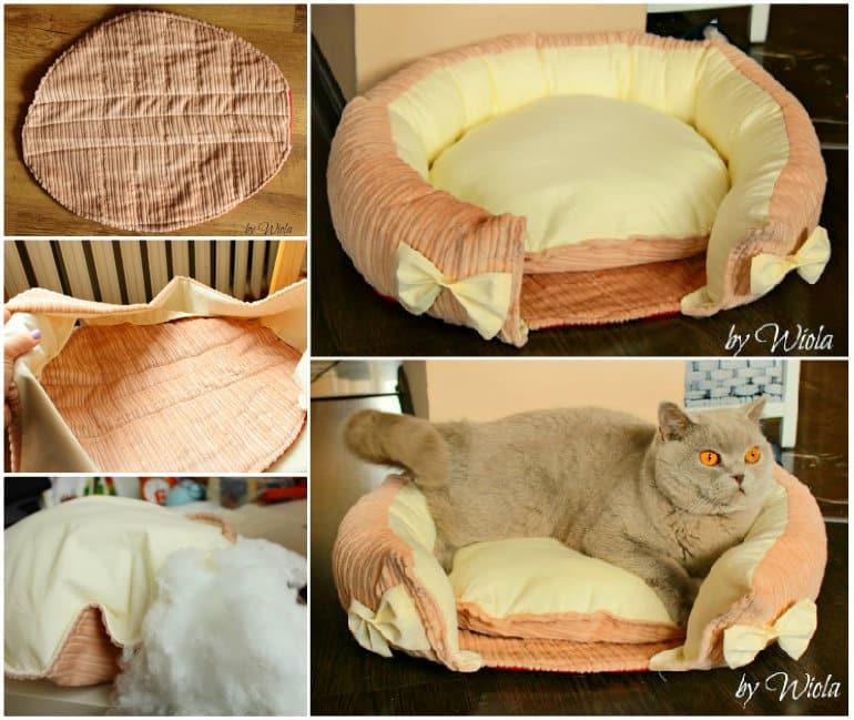 chat astuce du jour fleur Patron-panier-pour-chats