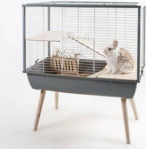 cage en métal pour lapins