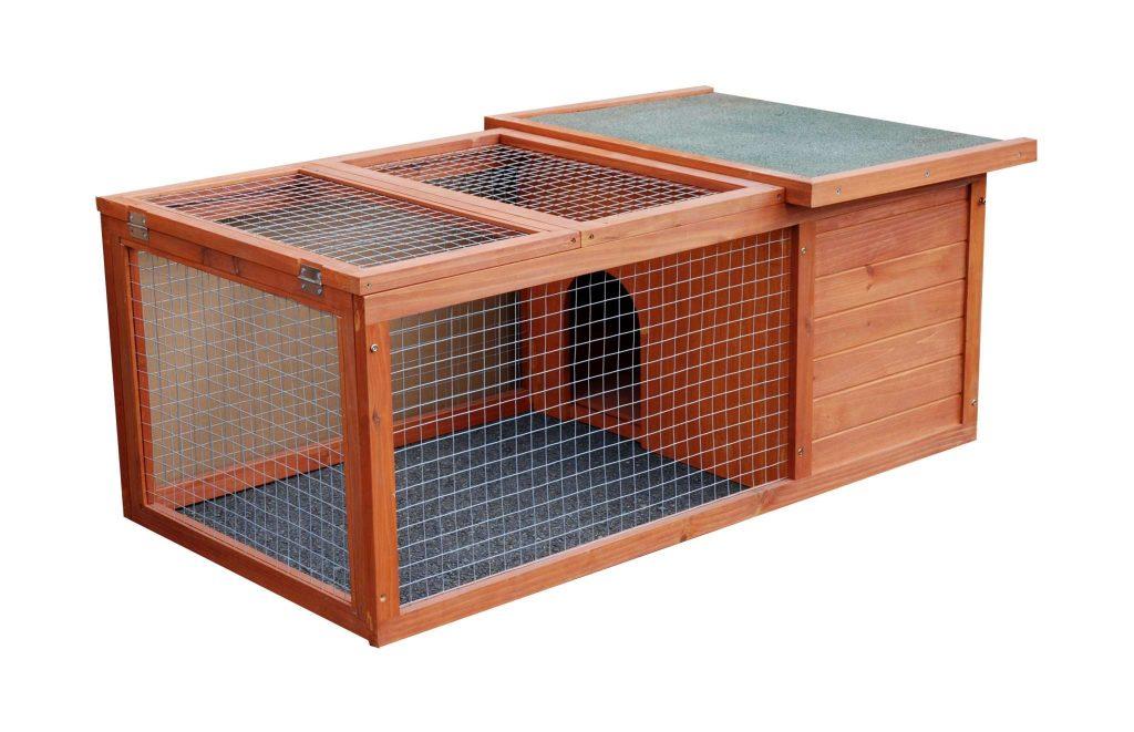 cage en bois pour lapins