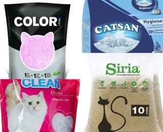 Comparatif des litières pour chats