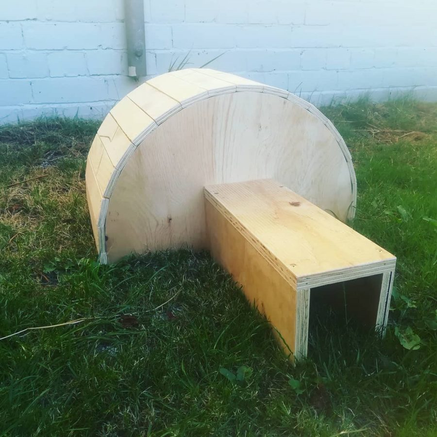 DIY : Construire une maison pour les hérissons