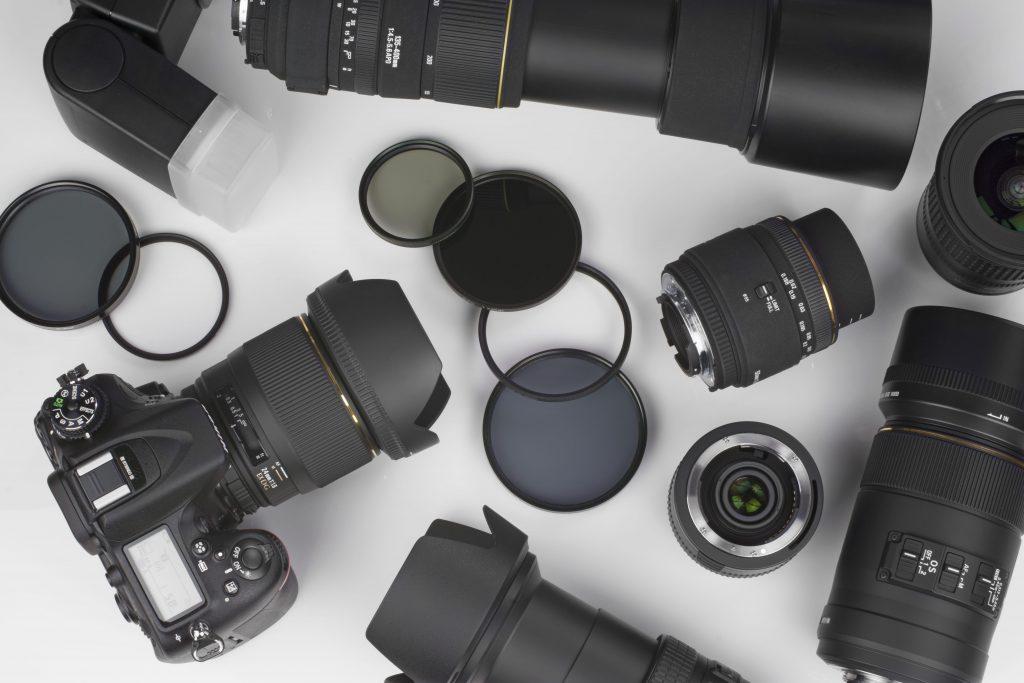 Objectifs et matériel photo