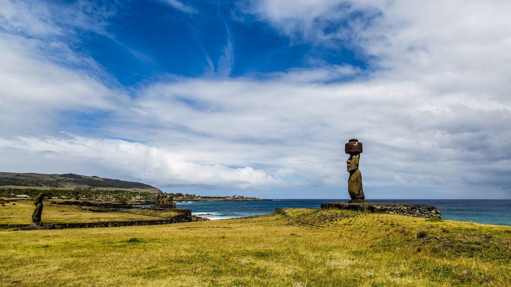 Paysage de l'île de Pâques