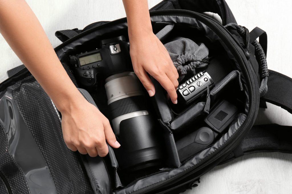 Sac de rangement pour matériel photographique