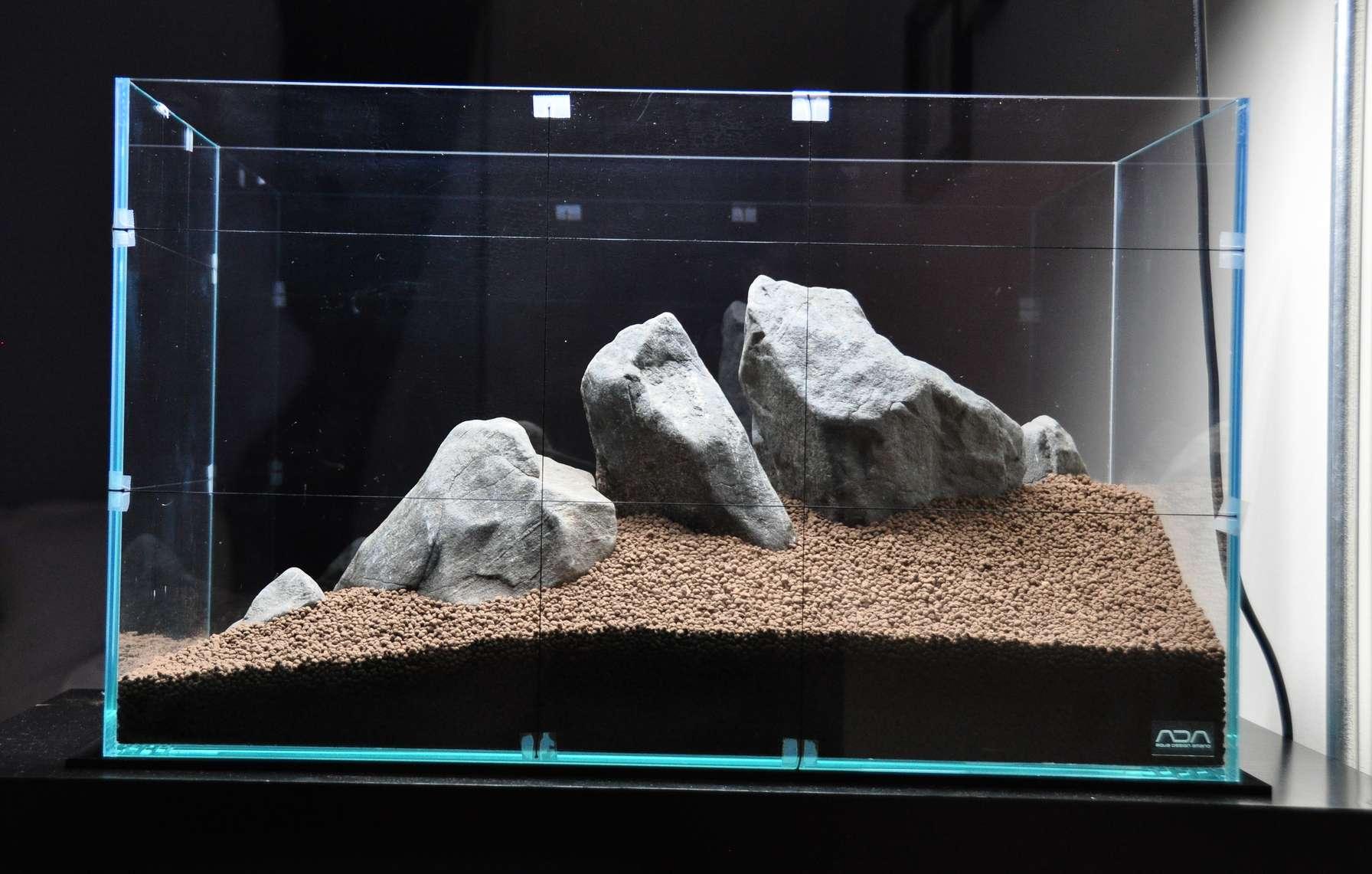 sol et décors aquarium